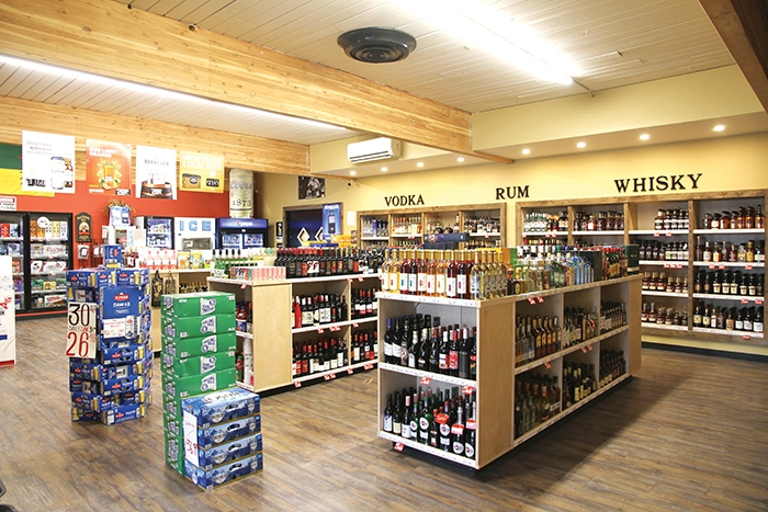 Retail liquor store permits are going up for auction for Esterhazy and Carlyle. Moosomin currently has two liquor stores—the Downtown Liquor store, above, and an SLGA store. Borderland Co-op plans to add a store onto their C-Store site on Highway 1 as well.