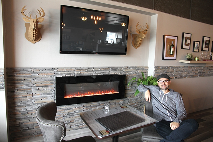 Jarrod Slugoski is excited about opening his new restaurant, Cork and Bone, in Moosomin.