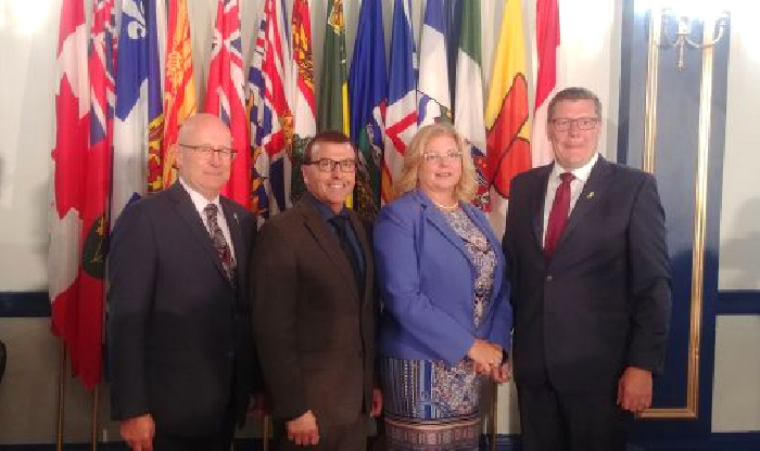 Three ministers changed portfolios, Warren Kaeding, Greg Ottenbret, and Lori Carr