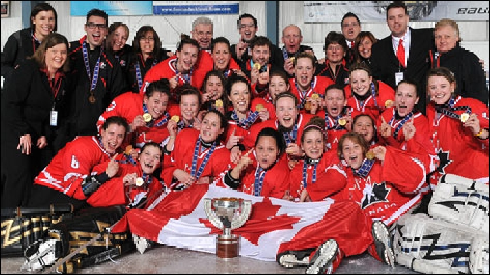 In a March 24, 2010 contest versus the OWHA All-Stars, Jessica Campbell played for the Canadian National Under 18 Women's Team. Campbell would score the first goal of the game for Team Canada, as the OWHA All-Stars defeated the Under 18 team by a 3-2 tally. Campbell led Canada's National Women's Under-18 Team to a gold medal at the 2010 IIHF World Women's Under-18 Championship in Chicago. She was the team captain and scored the game-winning goal in overtime of the gold medal game. For her efforts, she was named the tournament's Most Valuable Player. As a member of the gold medal winning squad,