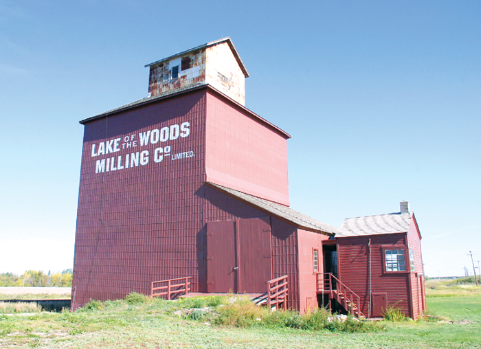 The community of Fleming is planning to build a replica on the site of the former Lake of the Woods Elevator. The original elevator was built in 1895.