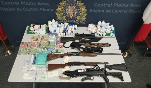 Portage la Prairie RCMP execute several warrants and arrests eight people