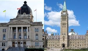 Provincial budget, federal budget worlds apart
