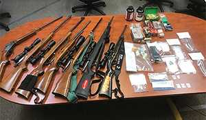 RCMP recover drugs, pills and firearms during search