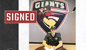Bochek signs with the Vancouver Giants
