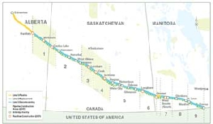 Enbridge Line 3 Replacement: Banister named contractor for local spread