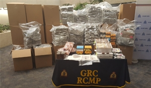 RCMP traffic stop leads to largest marijuana seizure in Canada