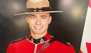 Shelby Patton of Indian Head RCMP killed while on duty Saturday