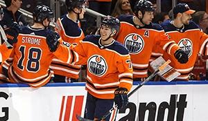 Ethan Bear scores first NHL goal