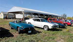 Car Rally held at Elkhorn Antique Auto Museum