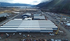Kitimat booming as LNG plant is under construction