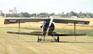 Vimy Flight lands in Moosomin