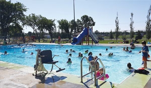 Esterhazy excited about 7-week summer program and another busy summer at the pool!
