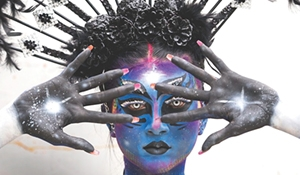 Delorme takes 'Queen of the Stars' to World Bodypainting Festival