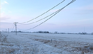 Frost leading to power outages in Southeast Sask