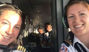 Carly St. Onge pilots first all-female Sask Air Ambulance crew