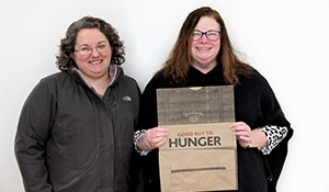 This Friday and Saturday: Caring Communities want to say Good Buy to Hunger