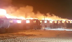 Redvers hotel destroyed by fire