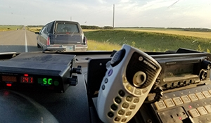 Hearse ticketed for speeding in Manitoba