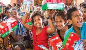 Collection week for Operation Christmas Child