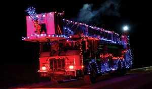 Santa Parade, Moonlight Madness Dec. 2