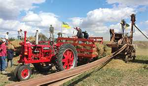 Wilson old-time harvest brings the past to life