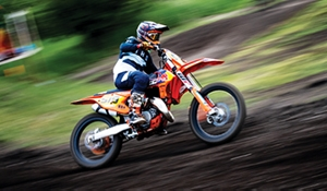 Smith has strong year in Motocross