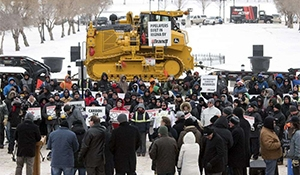 Rally for resources held in Regina
