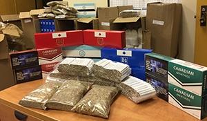 Yorkton RCMP seize 227,000 illegal cigarettes