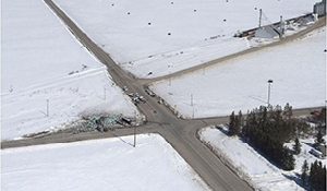 RCMP close 35-335 intersection