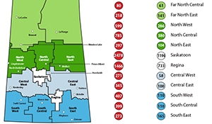 351 new cases of Covid-19 in Sask, 68 recoveries November 29