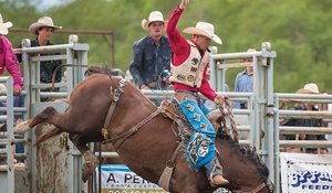 Friday and Saturday, July 6 and 7:<br>  25th annual Moosomin Rodeo this weekend