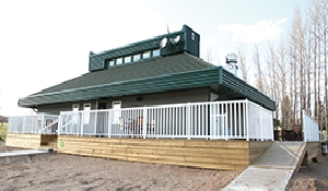 New clubhouse is ready to open