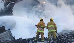 Valley View Hotel fire big loss to Tantallon
