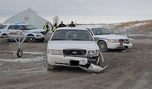Headingley RCMP arrest man for ramming vehicles