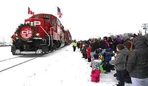 CP Holiday Train here Wednesday