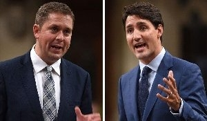 Scheer calls on Trudeau to quit, RCMP to investigate