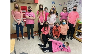 Pink Shirt Day teaching students about kindness