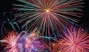Canada versus Philippines for fireworks event