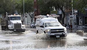 Flooding pounds western Manitoba