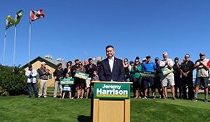 Jeremy Harrison promises to roll back PST expansion