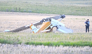 Pilot in plane crash charged with impaired flying