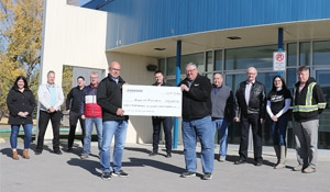 Enbridge donates $25,633 to Moosomin projects