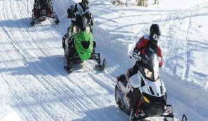 Possible COVID-19 exposure at snowmobile rally in Christopher Lake