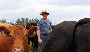 Elkhorn livestock producer says last week's rains are welcome but more is needed