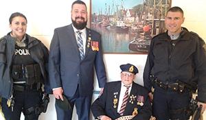 Virden Veteran honored