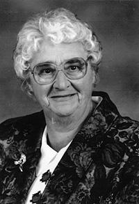 June Evelyn Van Meer (nee Sauter)